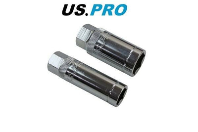 "US PRO 2PC 3/8"" DR MAGNETIC SPARK PLUG SOCKETS 16 & 21MM 5882 - SBW Trading Limited"