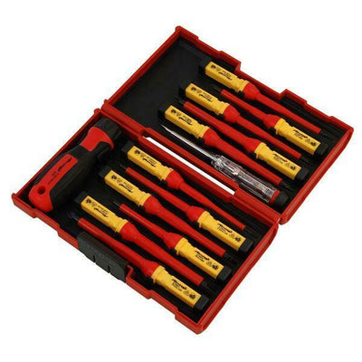 VDE INSULATED SCREWDRIVER SET WITH INTERCHANGEABLE BLADES - SBW Trading Limited