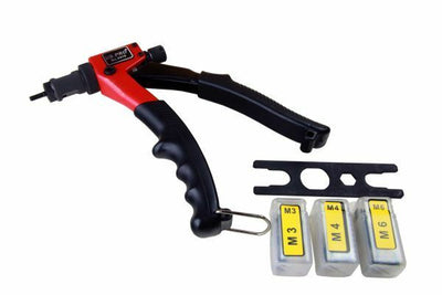Single Hand Nut Riveter/Riveting/Rivet/Riveters Tool By U.S Pro New 5418 - SBW Trading Limited