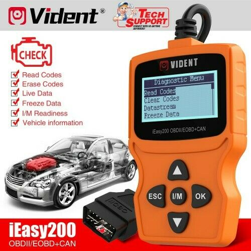 VIDENT iEasy200 OBDII  Car Diagnostics Scanner