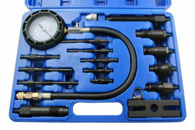 US Pro 16pc Diesel Engine Cylinder Pressure Compression Tester Set - SBW Trading Limited