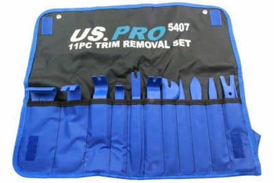 US PRO 11PC TRIM REMOVAL SET NON SCRATCH TRIM TOOLS 5407 - SBW Trading Limited