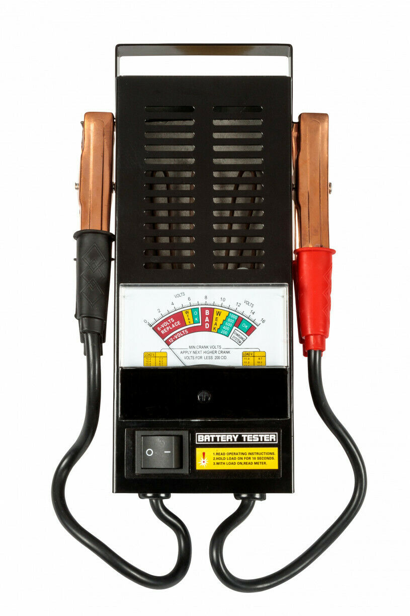 Professional 100 AMP Battery Tester 6V & 12V up to 1000CCA - SBW Trading Limited
