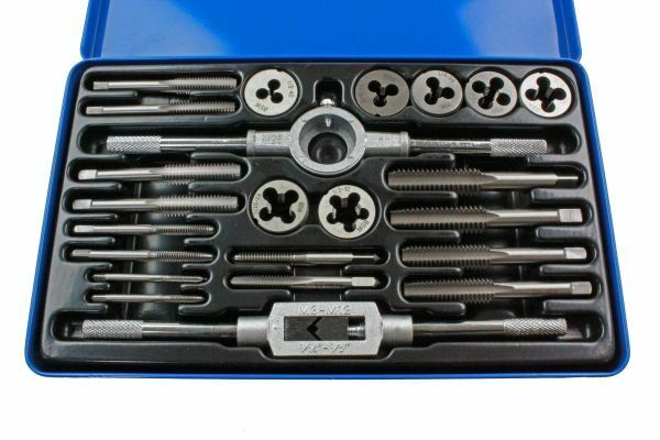 US PRO 23pc WHITWORTH Tap And Die Set 2640 - SBW Trading Limited