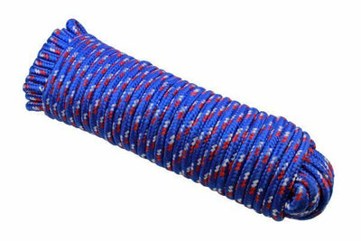 10mm x 30m Multi-Purpose Polypropylene Braided Rope for Camping Gardening - SBW Trading Limited