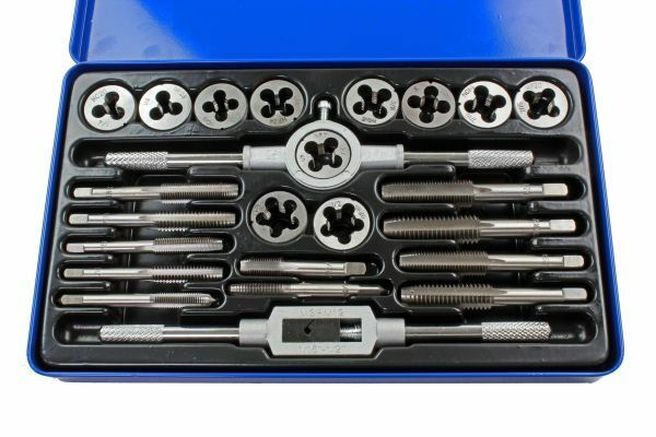 US PRO 24PC UNC/UNF Tap And Die Set 2621 - SBW Trading Limited