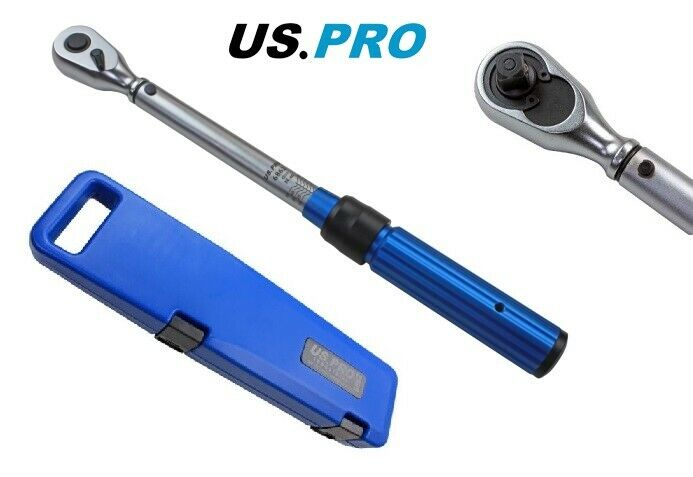 "US PRO INDUSTRIAL 3/8"" DR Torque Wrench 5 - 60 NM 6862 - SBW Trading Limited"