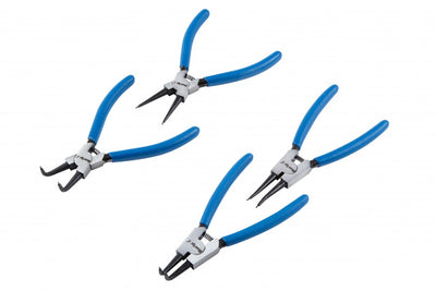 4 Pc Circlip Plier Set 150mm & 64pc External Circlips set 6-25mm - SBW Trading Limited