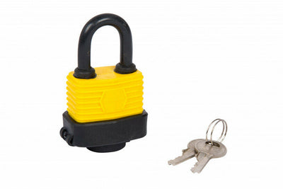 40MM WEATHER RESISTANT PADLOCK WITH 2 KEYS - SBW Trading Limited