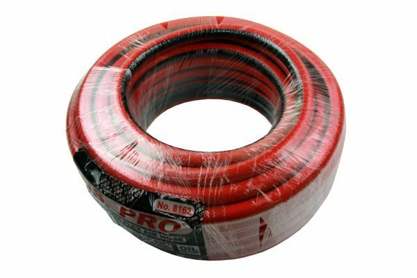 10MM X 15 MTRS RED TOUGH FLEX AIR HOSE 20 BAR OIL RESIST - SBW Trading Limited