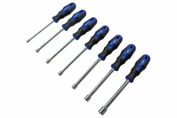 US PRO Tools 7pc Nut Driver Spinner Screwdriver Set 5 to 13mm - SBW Trading Limited
