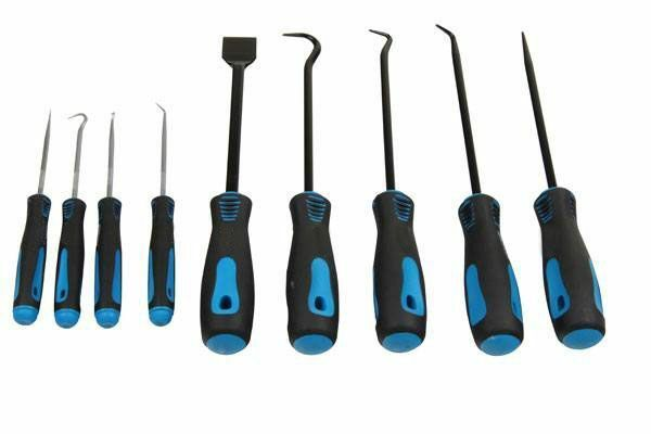 US PRO 9pc Heavy Duty Pick & Hook Set - Scraper & Hook Set 5035 - SBW Trading Limited