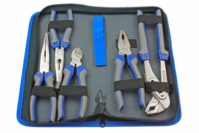 US PRO Professional 5 Piece Pliers Set Combination Long Nose Water Pump 1821 - SBW Trading Limited