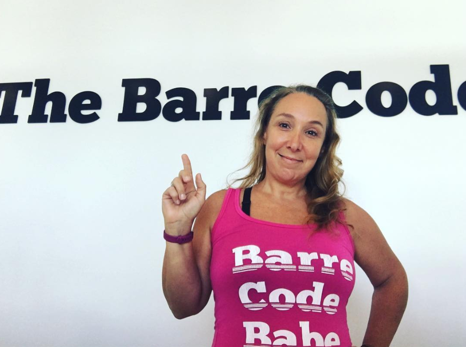 Barre Code Babe Tank