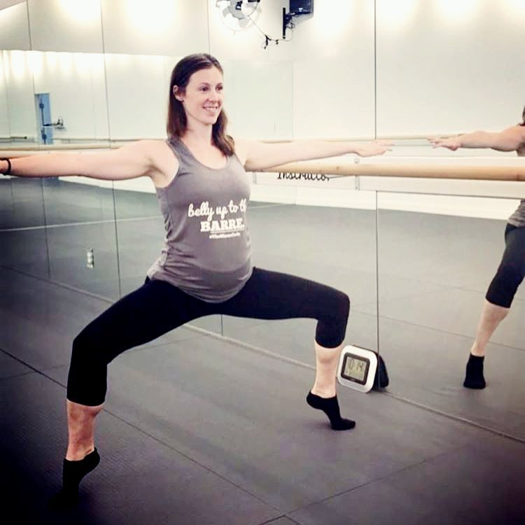 Belly Up To The Barre Maternity Tank