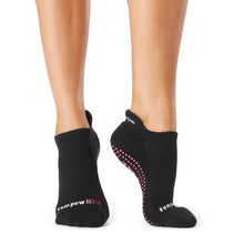 Load image into Gallery viewer, The Barre Code x Tavi Noir Socks - #empowHER