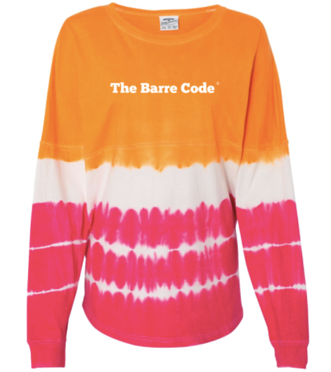 The Barre Code Tie Dye Long Sleeve