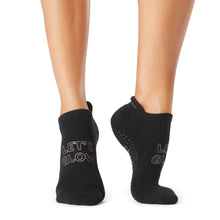 Load image into Gallery viewer, The Barre Code x Tavi Noir Socks - Let's Glow