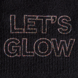 The Barre Code x Tavi Noir Socks - Let's Glow