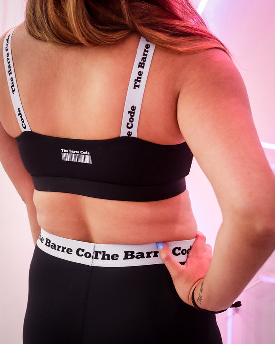 The Barre Code Elastic Bra