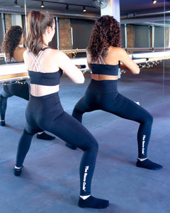 High Waisted Power Leggings - Black