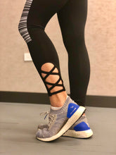 Load image into Gallery viewer, Lace-Up Ankle Leggings