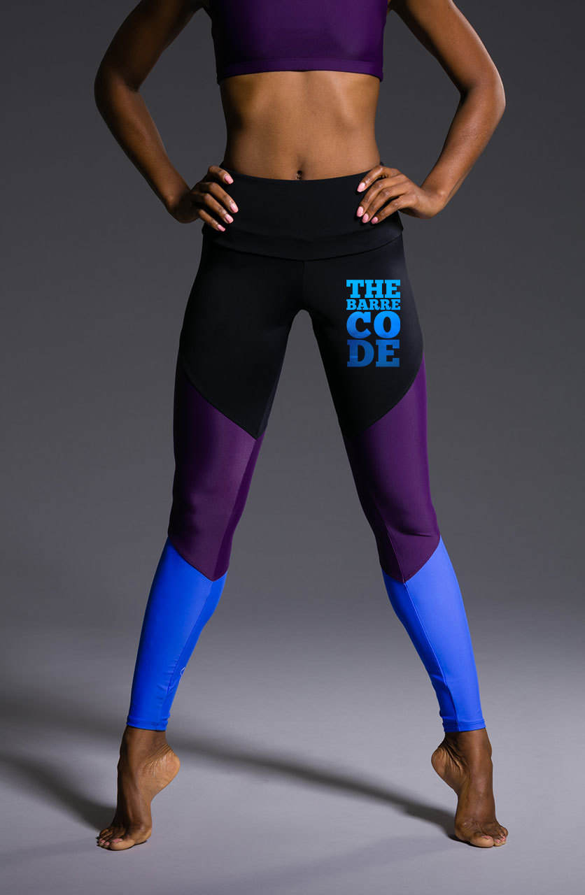 Onzie x The Barre Code Track Leggings