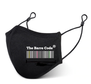 The Barre Code Face Mask