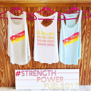 Strength Power Fuel Racerback Tank