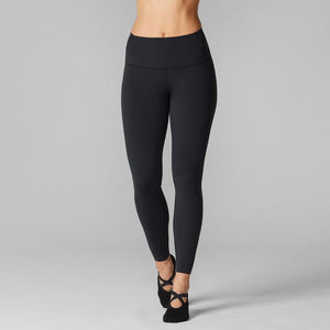 Tavi Noir High Waisted 7/8 Tight - Ebony