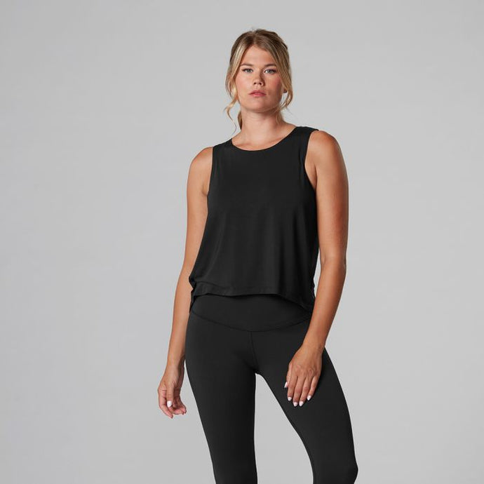 Tavi Noir High-Low Tank - Ebony