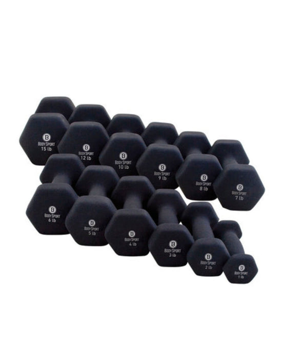 Set of 2 Hand Weights - 3 Pounds