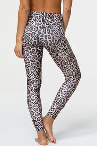 Onzie High Rise Legging: Leopard