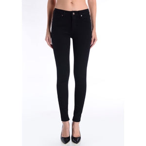 "Just Black Denim 9"" Rise Overdye Skinny Jean"