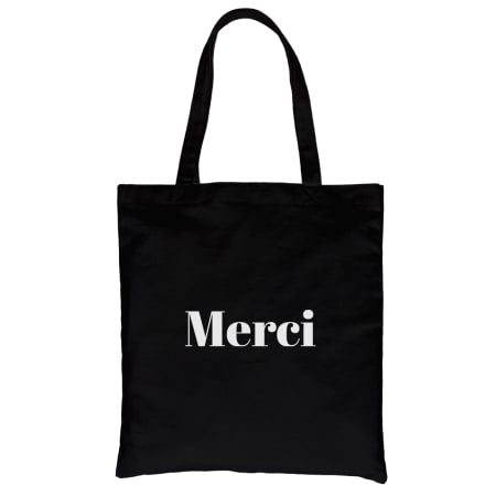 Merci Canvas Tote
