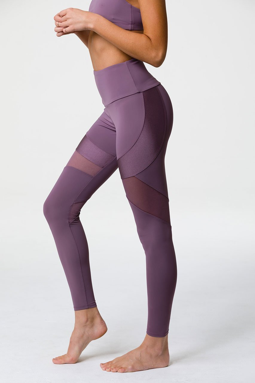 Onzie Royal Legging: Purple Haze
