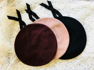 Ecolier Beret (Multiple Colors)