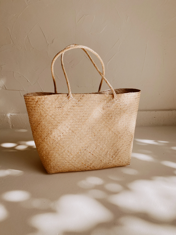 Avery Day Tote in Natural