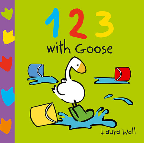 Board Book: 123 With Goose