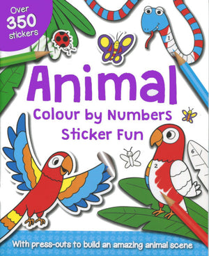 Colour by numbers Sticker Fun: Animal