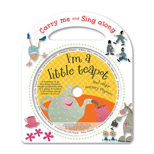 Carry Me and sing Along: I'm a little Teapot (with CD)