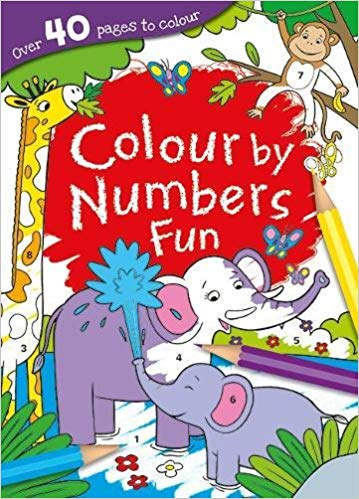 Colour by Numbers fun