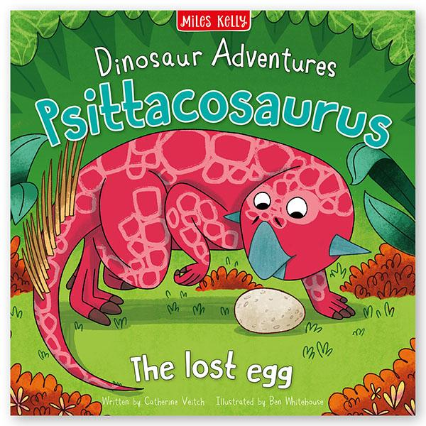 Dinosaur Adventures: Psittacosaurus – The lost egg (Picture flat)