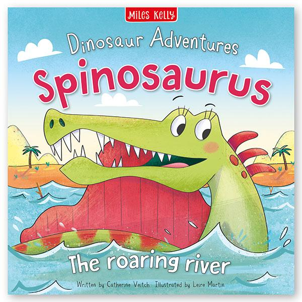 Dinosaur Adventures: Spinosaurus – The Roaring River (Picture flat)