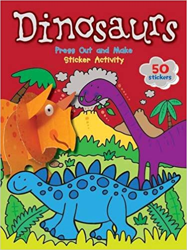 Dinosaurs: Press out and make Sticker Activity