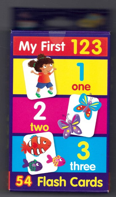 Flash Cards: My First 123