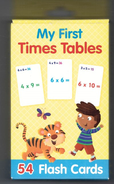Flash Cards: My First Times Tables