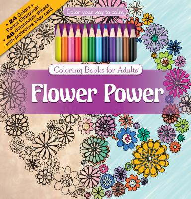 Color your way to calm - Flower Power