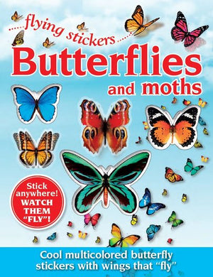 Butterflies and moths - Flying stickers