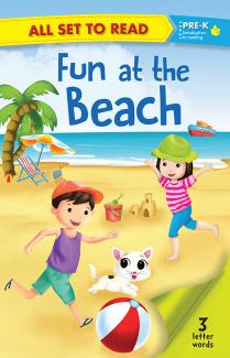 All set to Read: Level Pre-K: Fun at the Beach (3 Letter Words)